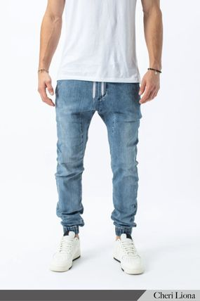 Ron Herman Denim Plain Cotton Joggers Jeans