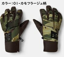 UNDER ARMOUR Camouflage Blended Fabrics Street Style Logo Military