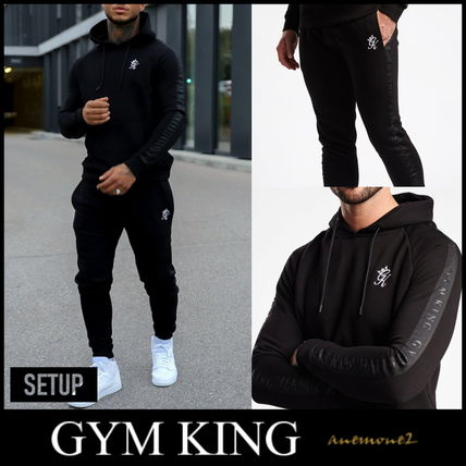 Unisex Street Style Co-ord Sweats Two-Piece Sets