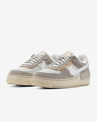 Nike AIR FORCE 1 Casual Style Suede Street Style Low-Top Sneakers