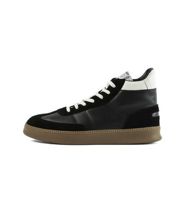 SPALWART Sneakers Suede Studded Street Style Plain Leather Logo Sneakers 2
