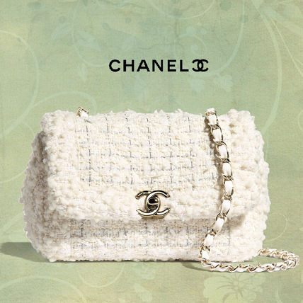 CHANEL Casual Style Chain Plain Crossbody Shoulder Bags