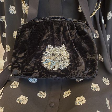kate spade new york Casual Style 2WAY Other Animal Patterns Party Style