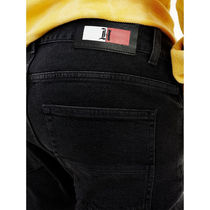 Tommy Hilfiger More Jeans Unisex Blended Fabrics Street Style Collaboration Plain 4
