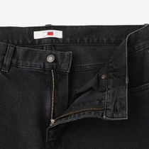 Tommy Hilfiger More Jeans Unisex Blended Fabrics Street Style Collaboration Plain 12
