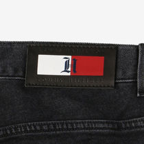 Tommy Hilfiger More Jeans Unisex Blended Fabrics Street Style Collaboration Plain 13