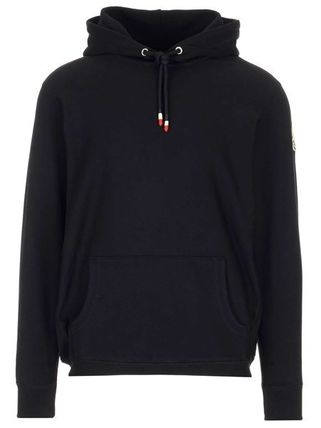 MONCLER Hoodies Unisex Nylon Street Style Collaboration Long Sleeves Logo 2