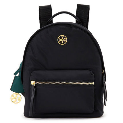 Tory Burch PERRY Nylon Plain Logo Backpacks