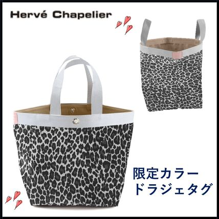 Leopard Patterns Casual Style Nylon Office Style