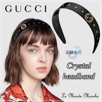 GUCCI Star Casual Style Party Style Elegant Style Headbands