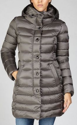 Unisex Blended Fabrics Down Jackets