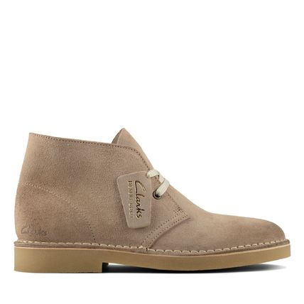 Unisex Suede Leather Boots Boots