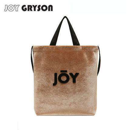 Casual Style Unisex 3WAY Plain Crossbody Logo Totes