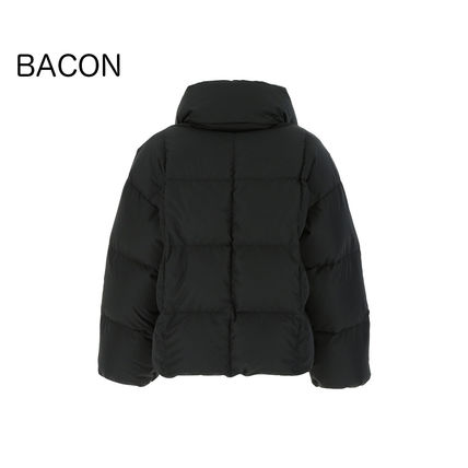 Plain Logo Down Jackets