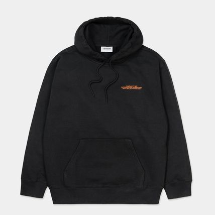Carhartt Pullovers Street Style Long Sleeves Cotton