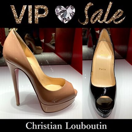 Christian Louboutin Casual Style Plain Pin Heels Party Style Office Style