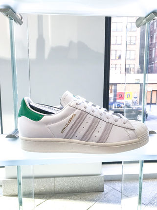 KITH NYC Street Style Collaboration Logo Sneakers