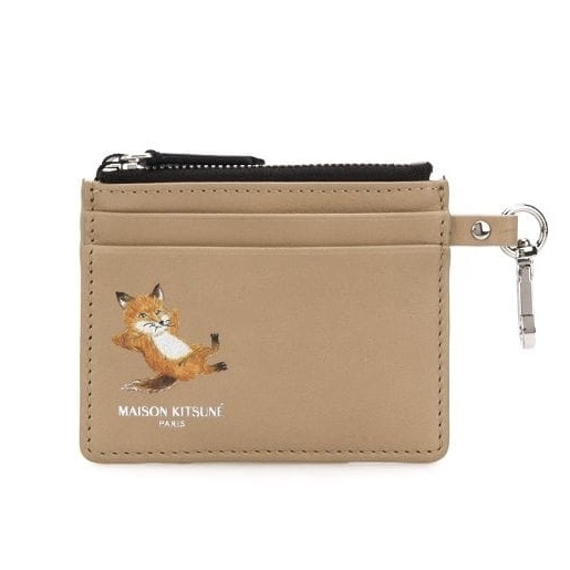 shop maison kitsune wallets & card holders