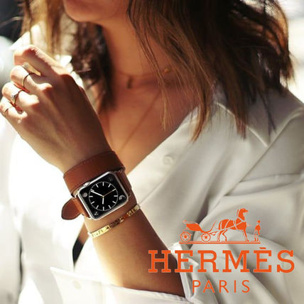 HERMES Series6 Case & Band Apple Watch Hermes Double Tour 44Mm