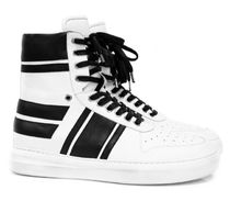 ORO LOS ANGELES Plain Leather Logo Sneakers