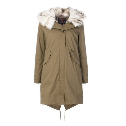 WOOLRICH Casual Style Street Style Plain Party Style Office Style
