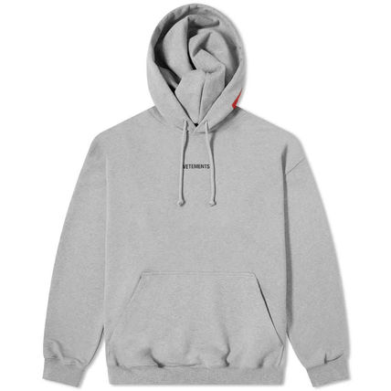 VETEMENTS Hoodies Unisex Street Style Long Sleeves Cotton Hoodies 2