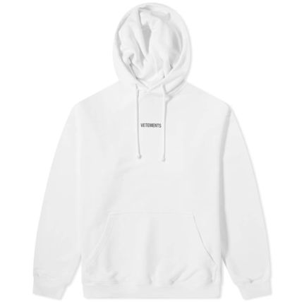 VETEMENTS Hoodies Unisex Street Style Long Sleeves Cotton Hoodies 8