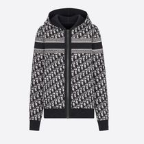 Christian Dior Reversible Zipped Cardigan With Hood