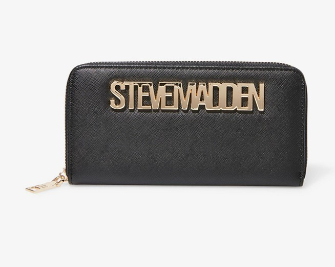 shop steve madden wallets & card holders
