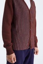 STUSSY Cardigans Stripes Unisex Wool Street Style Cotton Skater Style 7