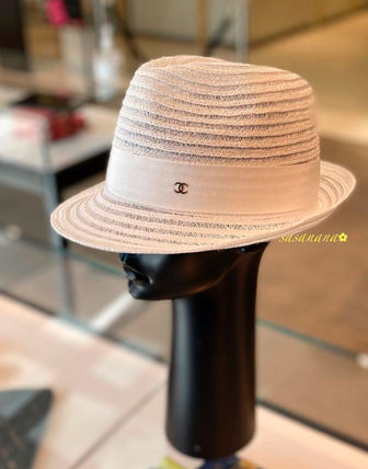 CHANEL CHANEL Straw Hats