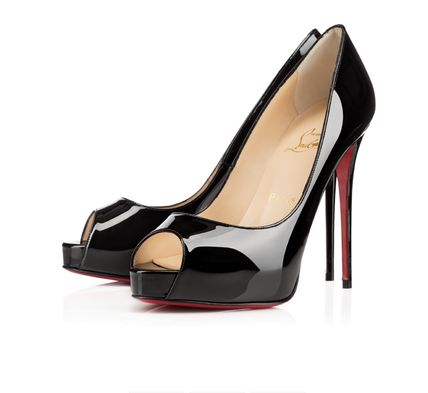 Christian Louboutin Open Toe Plain Pin Heels Party Style Office Style