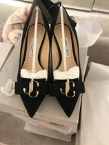 Jimmy Choo Casual Style Suede Plain Pin Heels Party Style Office Style