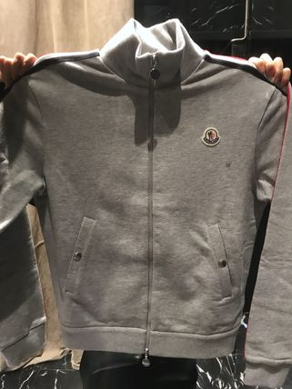 MONCLER Sweatshirts Cotton Logo Sweatshirts