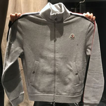 MONCLER Sweatshirts Cotton Logo Sweatshirts 2