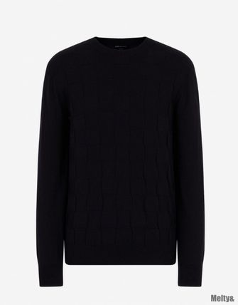 A/X Armani Exchange Sweaters Long Sleeves Plain Sweaters 2