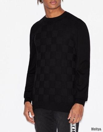 A/X Armani Exchange Sweaters Long Sleeves Plain Sweaters 3