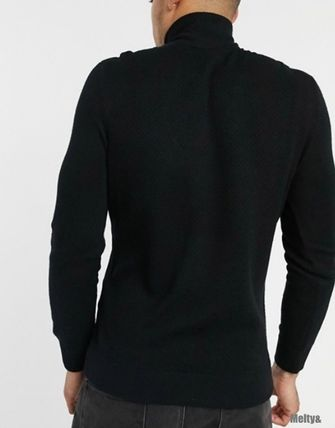 A/X Armani Exchange Sweaters Long Sleeves Plain Sweaters 4