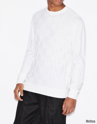A/X Armani Exchange Sweaters Long Sleeves Plain Sweaters 7
