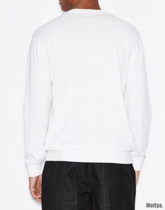 A/X Armani Exchange Sweaters Long Sleeves Plain Sweaters 8