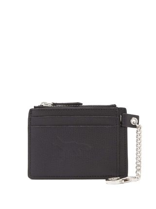 MAISON KITSUNE Leather Logo Card Holders