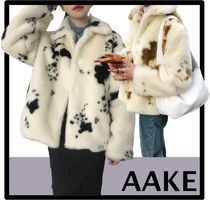 AAKE Street Style Cashmere & Fur Coats