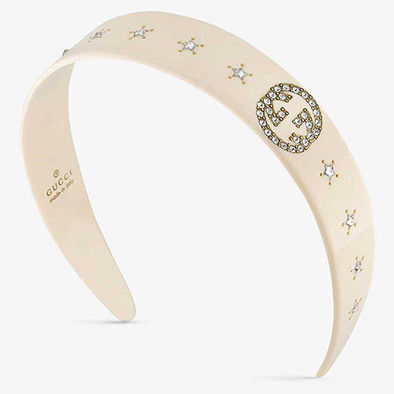 GUCCI Star Casual Style Blended Fabrics Party Style With Jewels