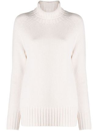 MaxMara Casual Style Wool Cashmere Long Sleeves Plain Office Style