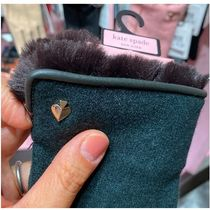 kate spade new york Studded With Jewels Logo Gloves Gloves