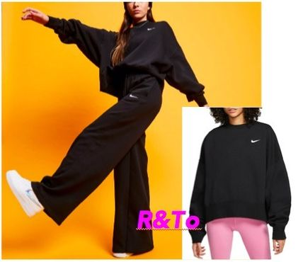 Nike Crew Neck Sweat Street Style Long Sleeves Oversized