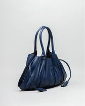 Lupo Barcelona Bucket Bags Casual Style Tassel Plain Leather Purses Office Style 15