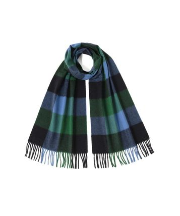 Glen Patterns Other Plaid Patterns Unisex Cashmere Fringes
