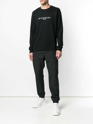 GIVENCHY Sweatshirts Crew Neck Pullovers Sweat Street Style Long Sleeves Plain 3