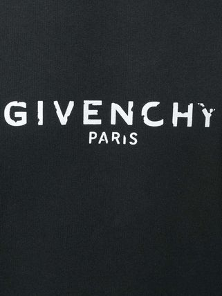 GIVENCHY Sweatshirts Crew Neck Pullovers Sweat Street Style Long Sleeves Plain 6